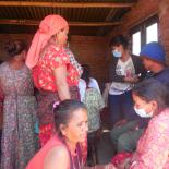 Nepal earthquake survivors