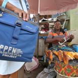 IPPF staff reaching out women in the market
