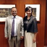 IPPF's Director General Tewodros Melesse with Japan's First Lady, Mrs Akie Abe