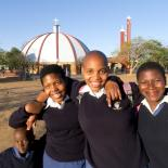 Girls with school uniforms- Swaziland. Photo credits: Nancy Durrell