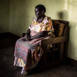Margaret, who lost her daughter to an unsafe abortion, photographed at her home in Kasawo, Uganda.