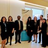 IPPF staff at the inauguration of IPPF office in Geneva.