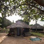 A community hut in Gulu, Uganda, where IPPF conducts outreach