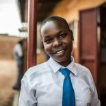 Female peer educator in a rural school in Uganda, IPPF