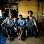 Fiji family helped by IPPF