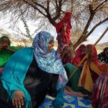 Amal during her outreach work to end FGM in Somaliland