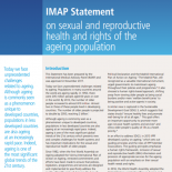 IMAP statement on SRHR of ageing