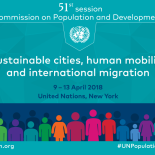 2018 UN Commission on Population and Development (CPD