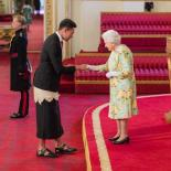 Joshua Sefesi meeting the Queen