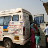 Mobile clinic, India