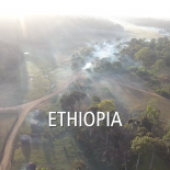 Landscape shot of Ethiopia