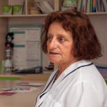 Hatixhe Gorenca is a nurse at the Albanian Centre of Population and Development (ACPD) clinic in Tirana