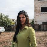 Amani is a 24 year old midwife and volunteer peer educator with the Palestinian Family Planning and Protection Agency.