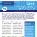 Workplace Health Service Delivery - Capability Statement