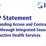 IMAP statement on expanding access and contraceptive choice