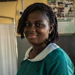 Sophia Abrafi, Midwife at the Mim Health Centre, 40