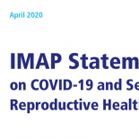 IMAP STATEMENT ON SRHR AND COVID19