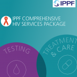 IPPF Comprehensive HIV Services Package  front cover