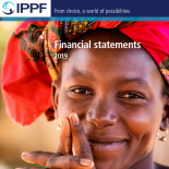 front cover of the financial statements 2019