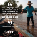 """The jungle has the highest rates of teen pregnancies and death during childbirth in Peru,"" said Stefanie. ""These are national problems that affect the most vulnerable people. It was a wake-up call for me."""