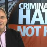 Criminalize Hate not HIV banner