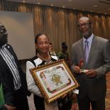 IPPF President Naomi Seboni presented with Legion of Honour
