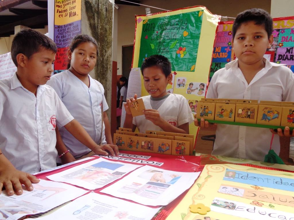 Age-appropriate sexuality education delivered by CIES Bolivia