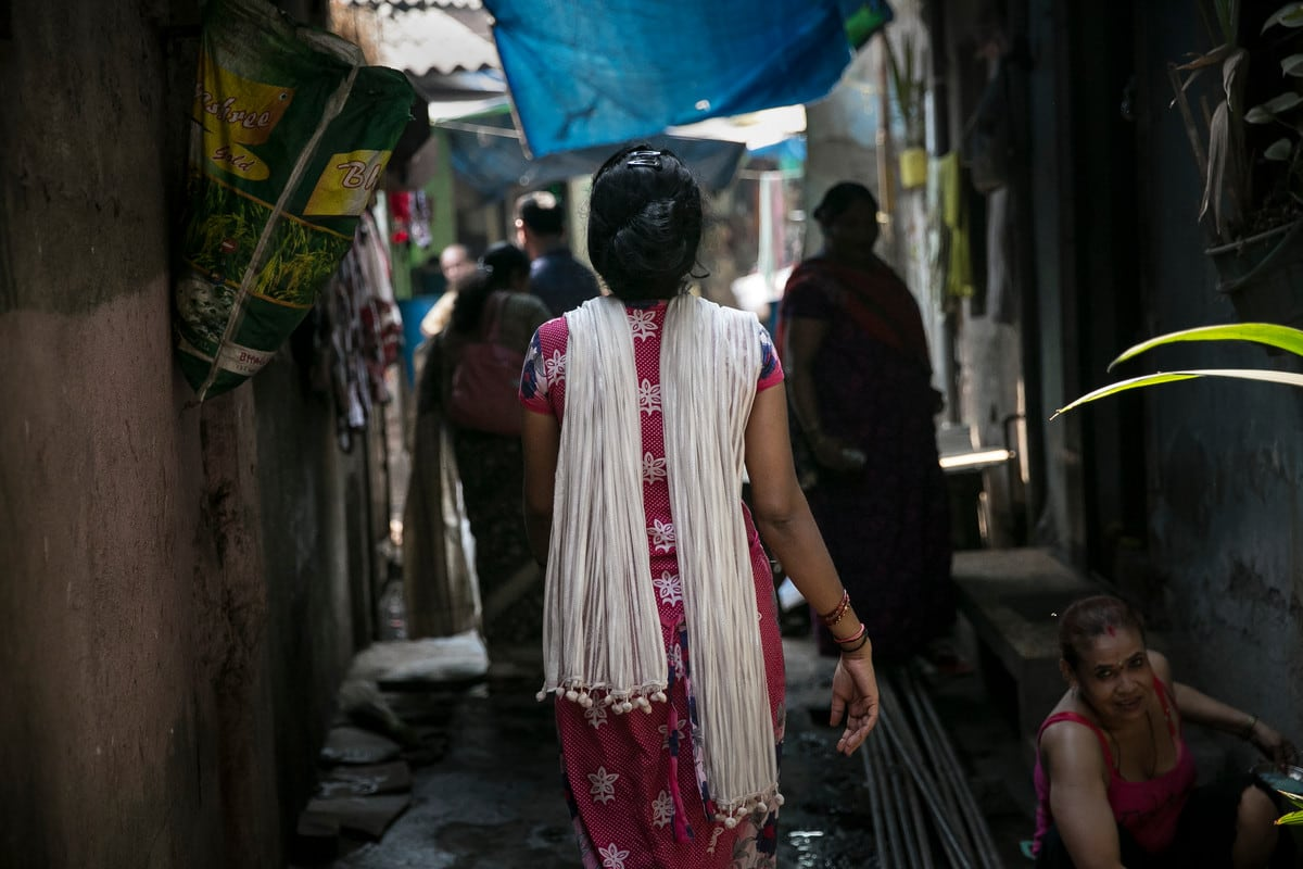 Diti*, a sex worker, in India